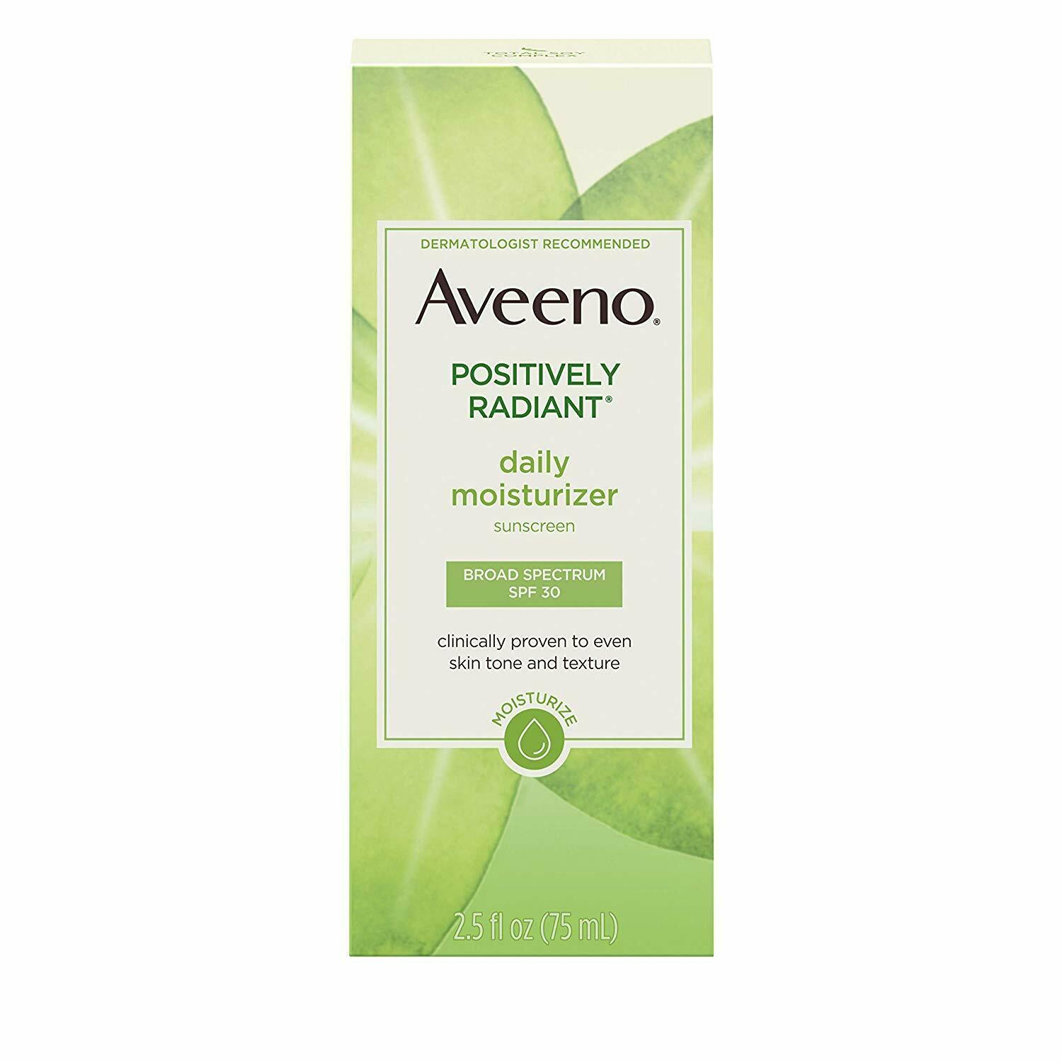 Aveeno Active Naturals Positively Radiant Daily Moisturizer
