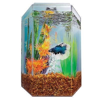 Imagitarium 1.7 Gallon Hexagonal Aquarium