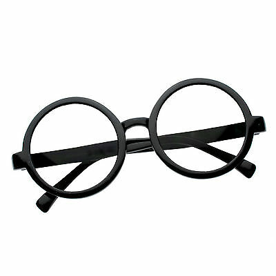 Costume  Harry Potter Glasses Nerd Bookworm Round Eye Dress Up Halloween - Bookworm Costume