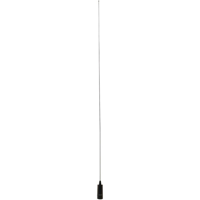 BROWNING(R) BR-140-B Browning(R) CB Antenna, 26.5MHz-30MHz, NMO Mounting, Black