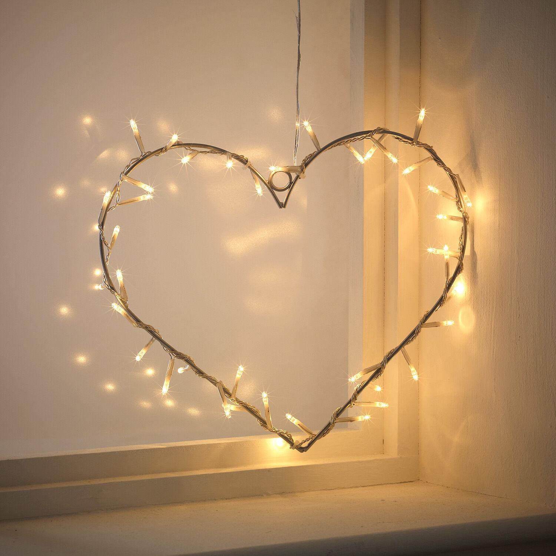 40er birnen herz beleuchtung lichterkette hochzeit muttertag valentinstag deko eur 13 99. Black Bedroom Furniture Sets. Home Design Ideas