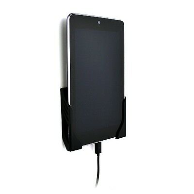 Koala Tablet Wall Mount Dock (Screw-in) by Dockem; for iPads, Androids (Black)