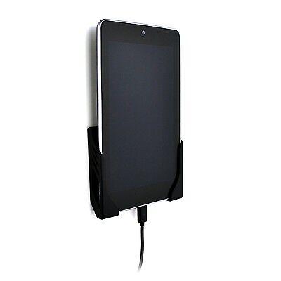 Koala Tablet Wall Mount Dock (Screw-in) by Dockem; for iPads, Androids (Black)