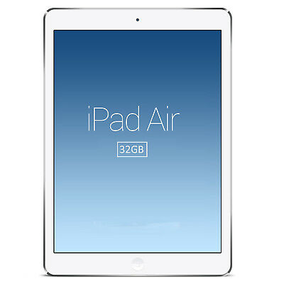 Apple Ipad Air 32Gb Tablet With Retina Display Wifi  Facetime And Camera  Silver