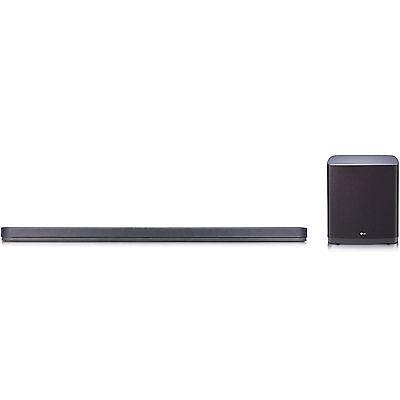 LG SJ9 Sound Bar w. 5.1.2ch Hi-Resolution Audio w/ Dolby Atmos, Wifi, Bluetooth