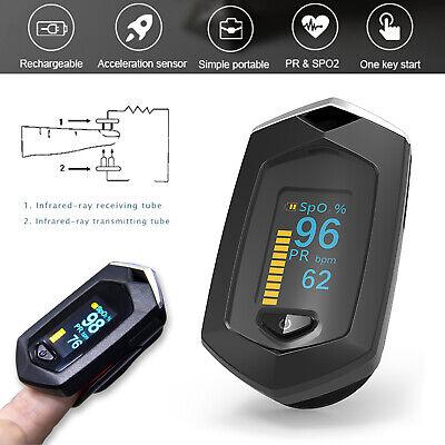 Finger Pulse Oximeter Spo2 Pr Blood Oxygen Saturation Heart Rate Monitor Oled Us