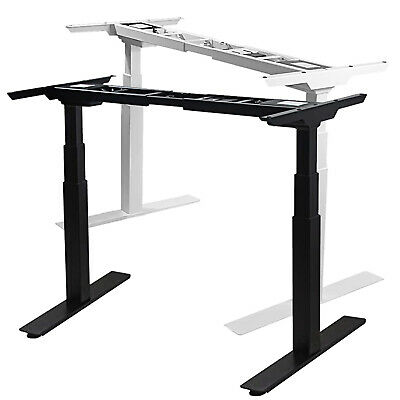 Electric Stand Up Desk Frame Dual Motor Height Adjustable Standing Desk Memory
