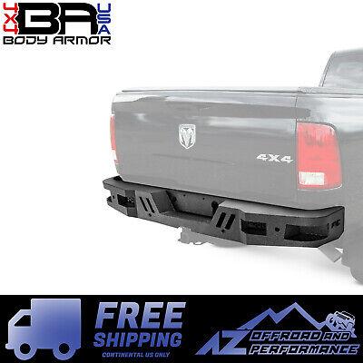 Body Armor 4X4 Eco Series Rear Bumper For Dodge Ram 2500/3500 10-18 DG-2963 ()