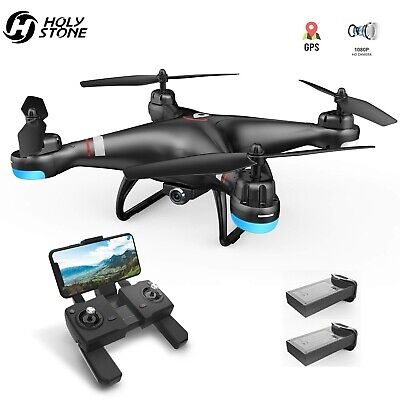 Devout Stone HS110G GPS Drone with 1080P camera FPV wifi RC quadcopter 2 battery
