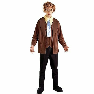 Napoleon Dynamite Adult Mens Halloween Costume Size Small Funny Fancy Dress NEW](Small Mens Halloween Costumes)