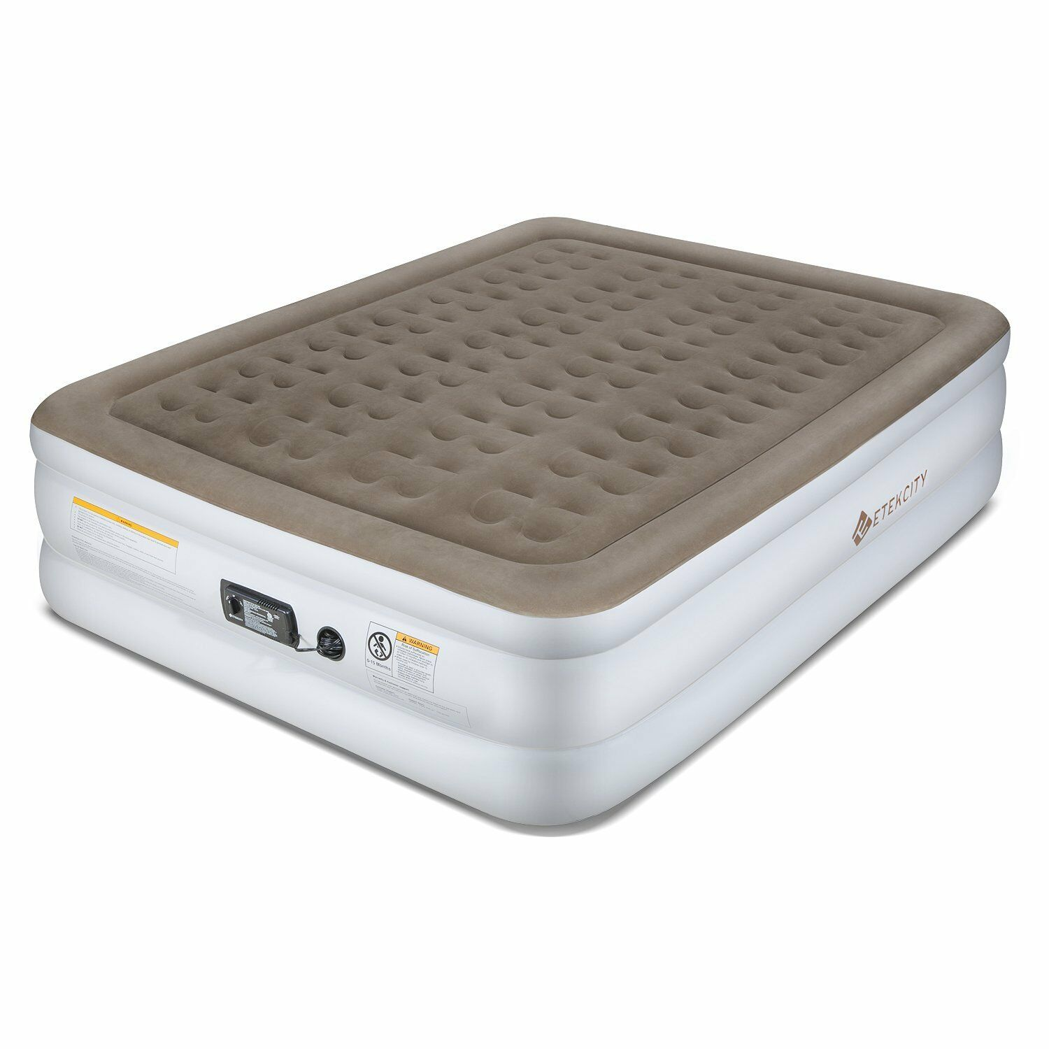 Queen Size Blow Up Inflatable mattress Bed With Built in Air