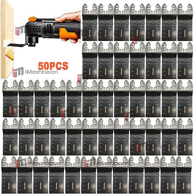 50x Oscillating Multi Tool Saw Blade For Milwaukee Porter Cable Bosch Makita Usa