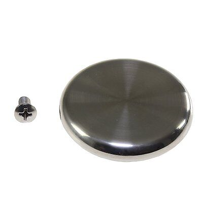 (Large Stainless Steel Replacement Knob Fits Le Creuset Pot Pan Oven Lids + Screw)