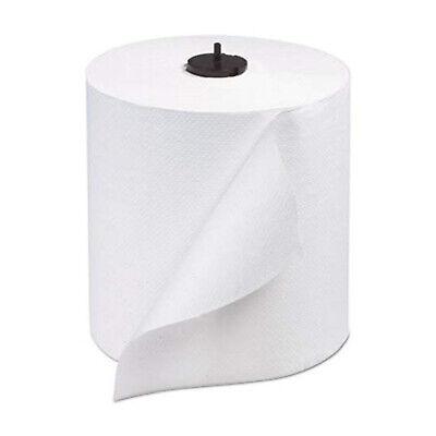 Tork Advanced Matic 1 Ply 700 Linear Feet Length White Hand Towel Roll 6 Pack