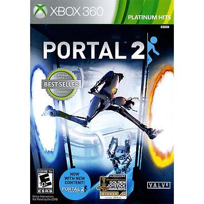 Xbox 360 Games - Portal 2 Xbox 360 [Brand New]
