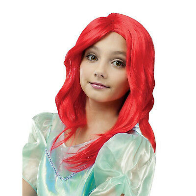 Red Mermaid Wig (Princess Child Mermaid Girls Red Wig | Fun World)