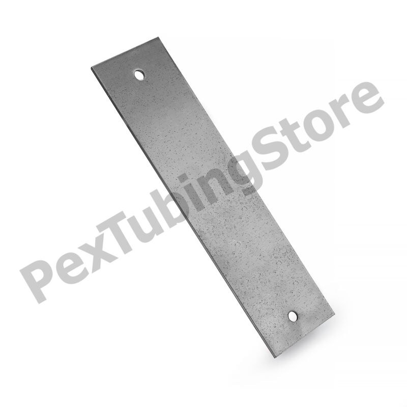 """100pcs of Steel Stud Guard Plates with nail holes, 1.5"""" x 6"""" , 16-Gauge"""