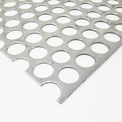 Aluminum Perforated Sheet 116 X 12 X 12 14 Holes 516 Centers