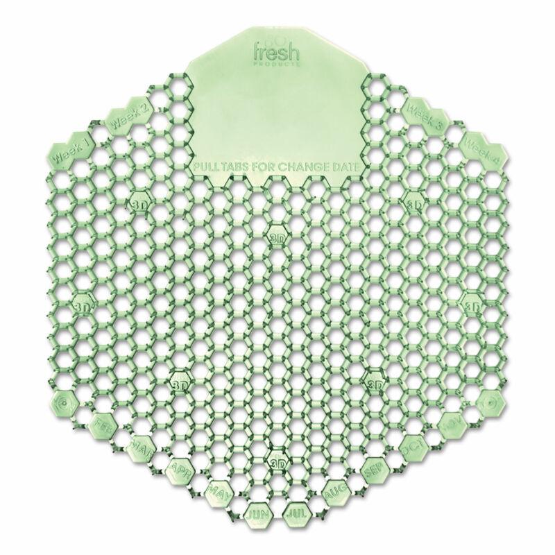 FRESH PRODUCTS Wave 3D Urinal Deodorizer Screen Green Cucumber Melon Fragrance