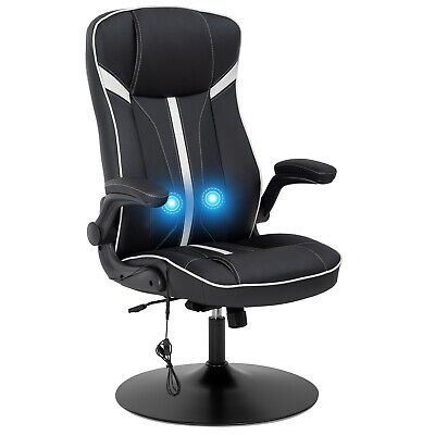 Rocking Gaming Chair Racing Office Chair Massage Desk Chair With Lumbar Support