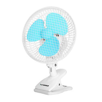 "VIVOSUN 6"" inch Portable 2-Speed Desk Clip On Oscillating Fan for Grow Tent Room"