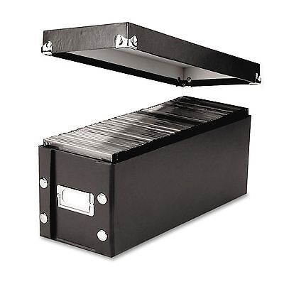 Idea Stream Snap-N-Store CD Media File Storage Box - |NO SALES TAX| - NEW