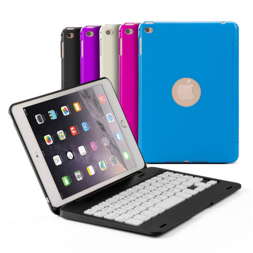 bluetooth wireless keyboard with stand case cover for apple ipad mini 4 ebay. Black Bedroom Furniture Sets. Home Design Ideas