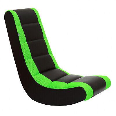 Crew Furniture 991590 Classic Video Rocker Black/Neon Green