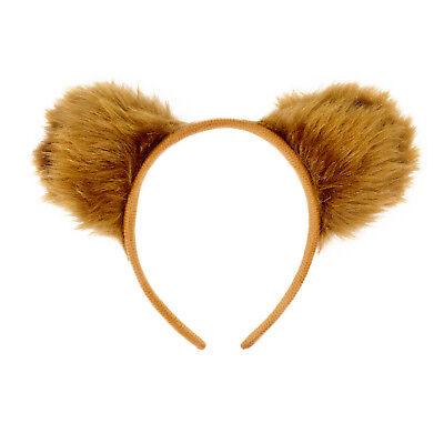Haarreifen Süße Teddy Bär Ohren Braun Fasching Karneval Party (Braunbär Kostüm Ohren)