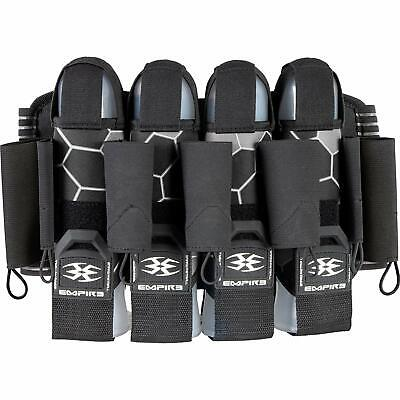 Empire F8 Action Pack 4+7 Paintball Harness - Komodo Fossil - Black Grey Action Pack Paintball Harness