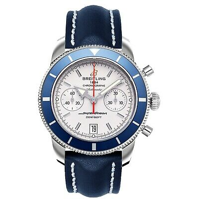 Breitling A2337016/G753-105X Men's Superocean Heritage Blue Automatic Watch