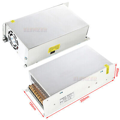 Ac 110220v To Dc 12v 50a 600w Volt Transformer Switch Power Supply Converter 1