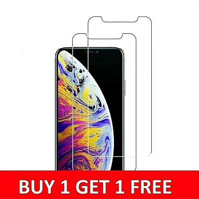 Tempered Glass Screen Protector For iPhone 11,11 Pro Max iPhone XR X XS Max SE 2
