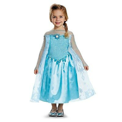 Elsa Classic Costume for Toddler One Color Large (4-6x)