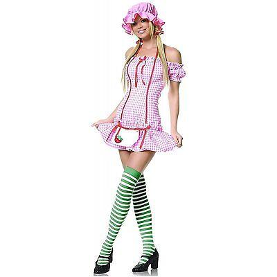 Sexy Strawberry Shortcake Adult Halloween Dress