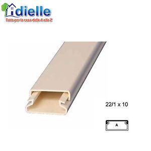 Canalina passacavi passatubi canala x impianto elettrico for Impianto esterno elettrico
