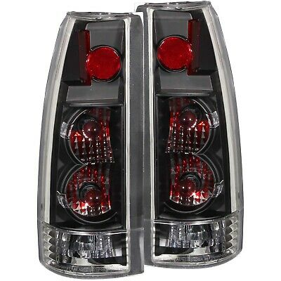 ANZO TAILLIGHTS BLACK-NEW GEN FITS 1999-2000 CADILLAC ESCALADE ANZ211144