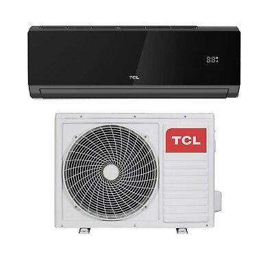 TCL 12000 BTU Black WIFI Smart A++  easy-fit DC Inverter Wall Split Air iQool12B