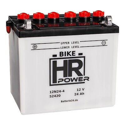 HR Power Rasentraktor 52420 12N24-4 12V 24Ah ()