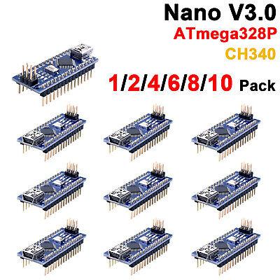 Arduino Nano V3.0 Atmega 328p Multipack With Ch340g 5v 16m Compatible Atmega328p