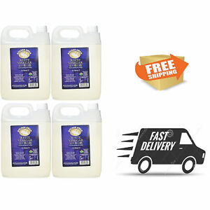 Distilled White Vinegar 5L - 4 Pack - For Cleaning Weed Killer - Free Delivery