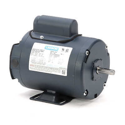 Leeson Electric Motor 100361.00 14 Hp 1725 Rpm 1-ph 115208-230 Volt 48 Frame