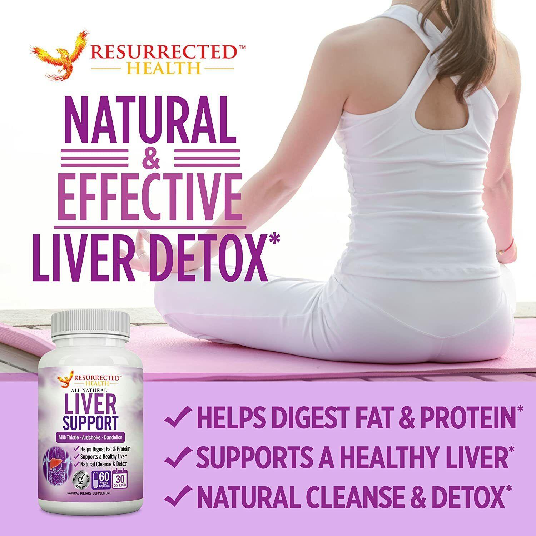 Potent Plant Based Liver Cleanse Detox Supplement to Flush T