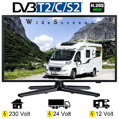 Reflexion LEDW190 Fernseher TV 18,5 Zoll 47cm DVB-S2 /C/T2 USB VGA 12/24/230Volt