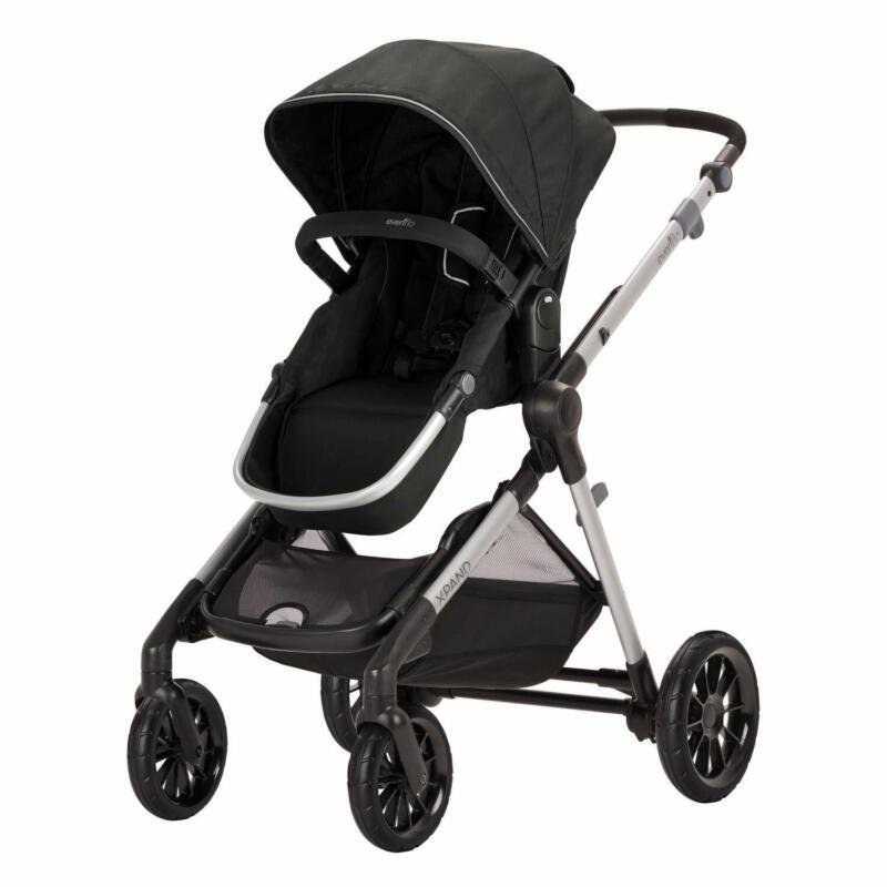 Evenflo Pivot Xpand Infant Toddler Baby Modular Stroller, Stallion (Open Box)