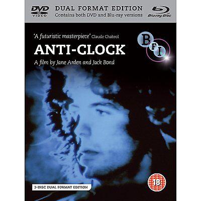 Anti-Clock - [Dual Format Edition - DVD & Blu ray] NEW & SEALED - Jane Arden
