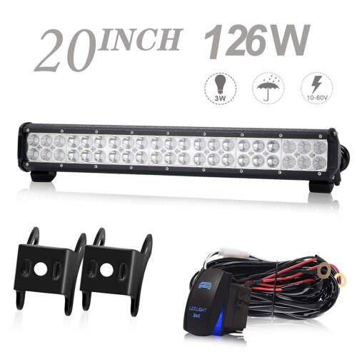 "FOR Ram 03-17 2500/3500 22"" LED Light Bar Bumper Backup Combo Offroad Lamp"