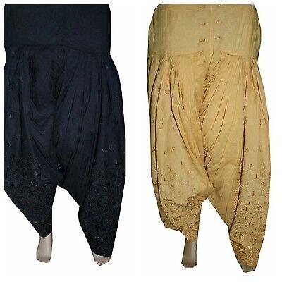 Set of 2 Readymade Indian Ethnic Punjab Suit PATIALA/ Patiyala SALWAR Women Pant for sale  Shipping to United States