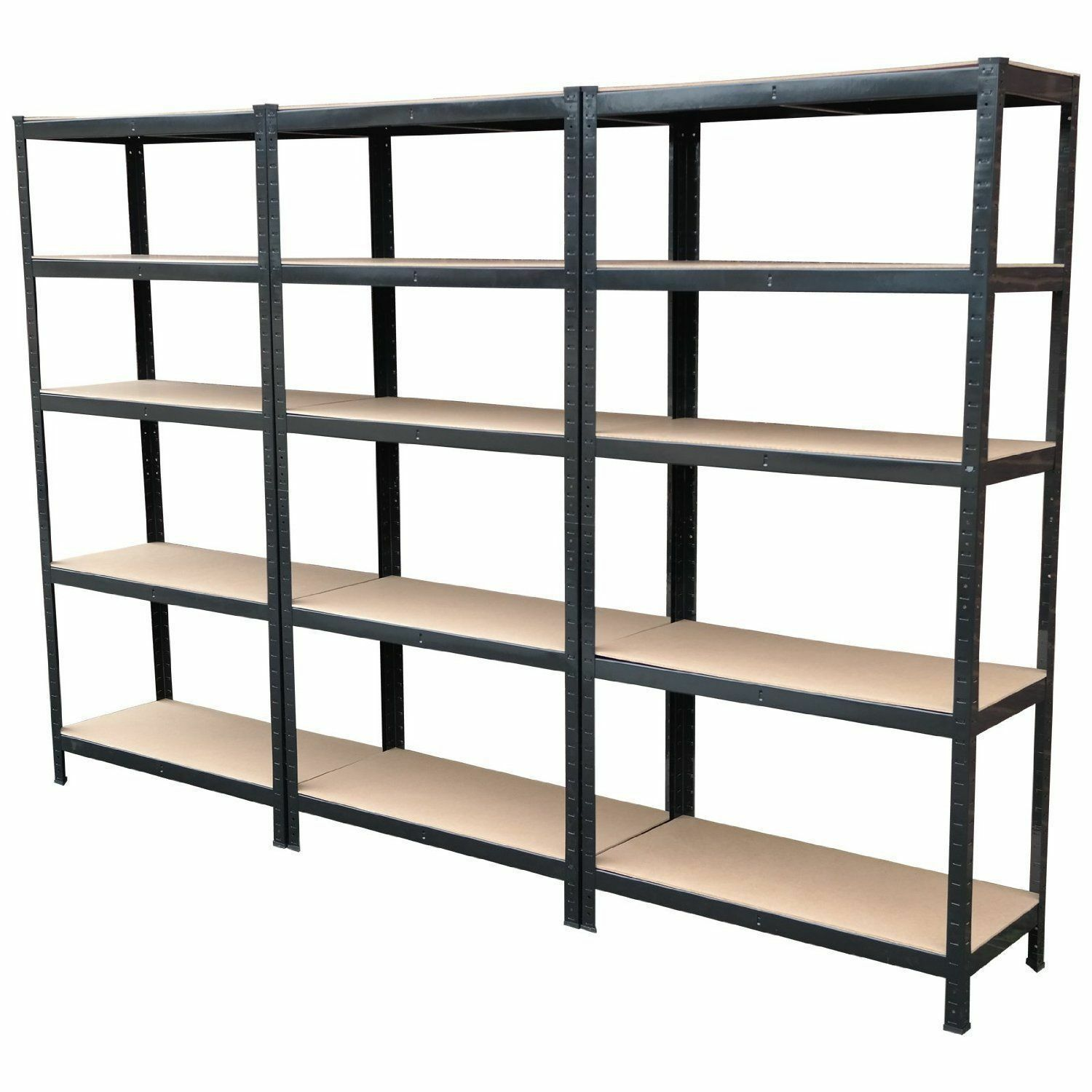 metal storage shelves 3 x 700mm wide garage shelving units depth metal 23296