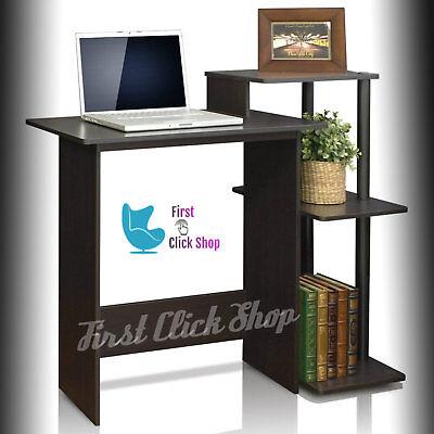 Decorate Office Desk (Computer Desk Table PC Furniture Office Home Stylish Design Decor Espresso)